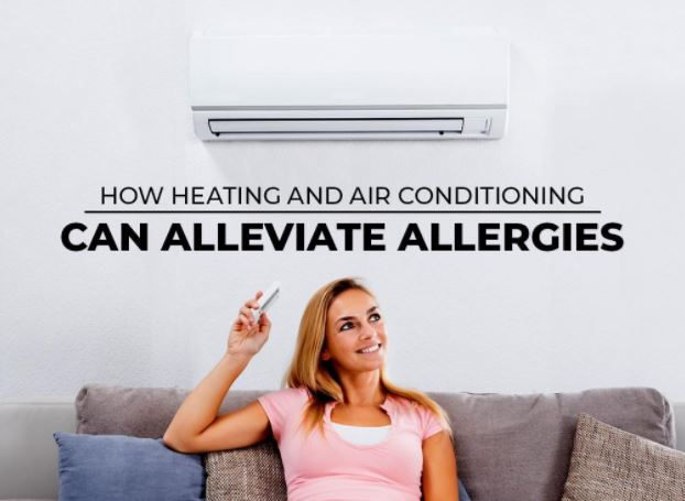 How Heating and Air Conditioning Can Alleviate Allergies